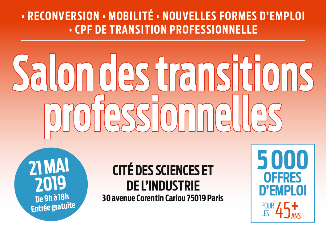 Salon des transitions professionnelles